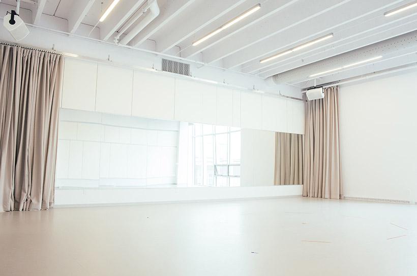 Studio E - Vue du côté sud-est