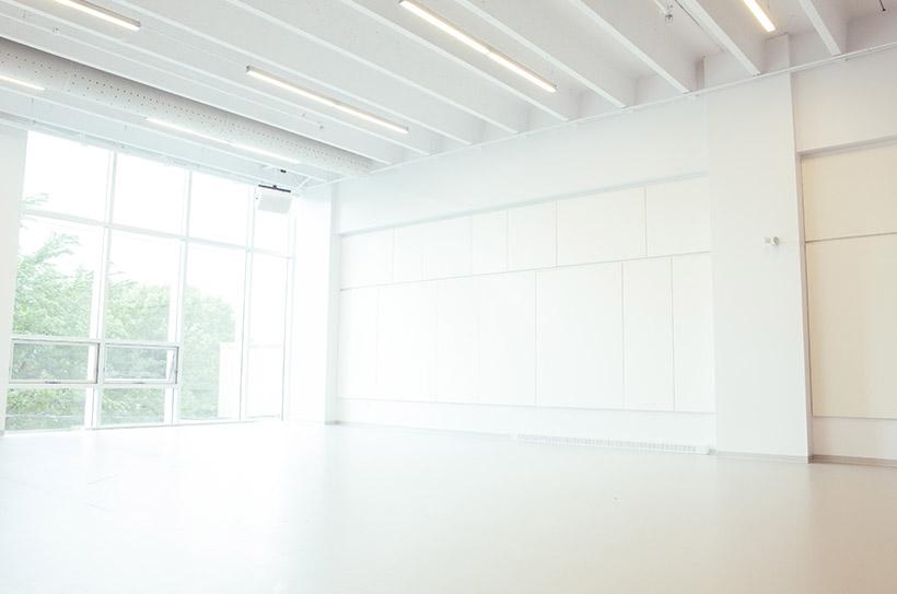 Studio E - Vue du côté nord-ouest