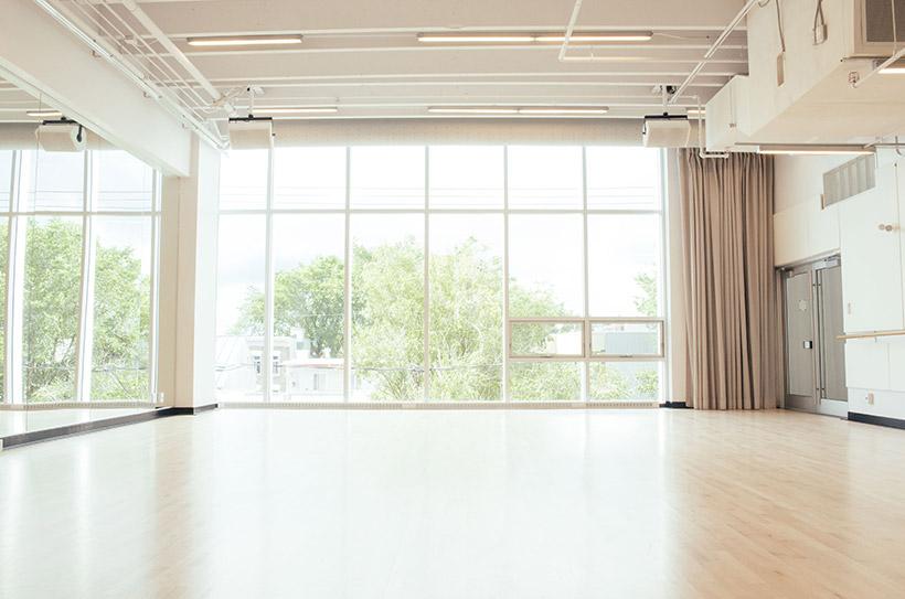 Studio F - Vue du côté nord-ouest
