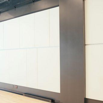 Mur d'exposition
