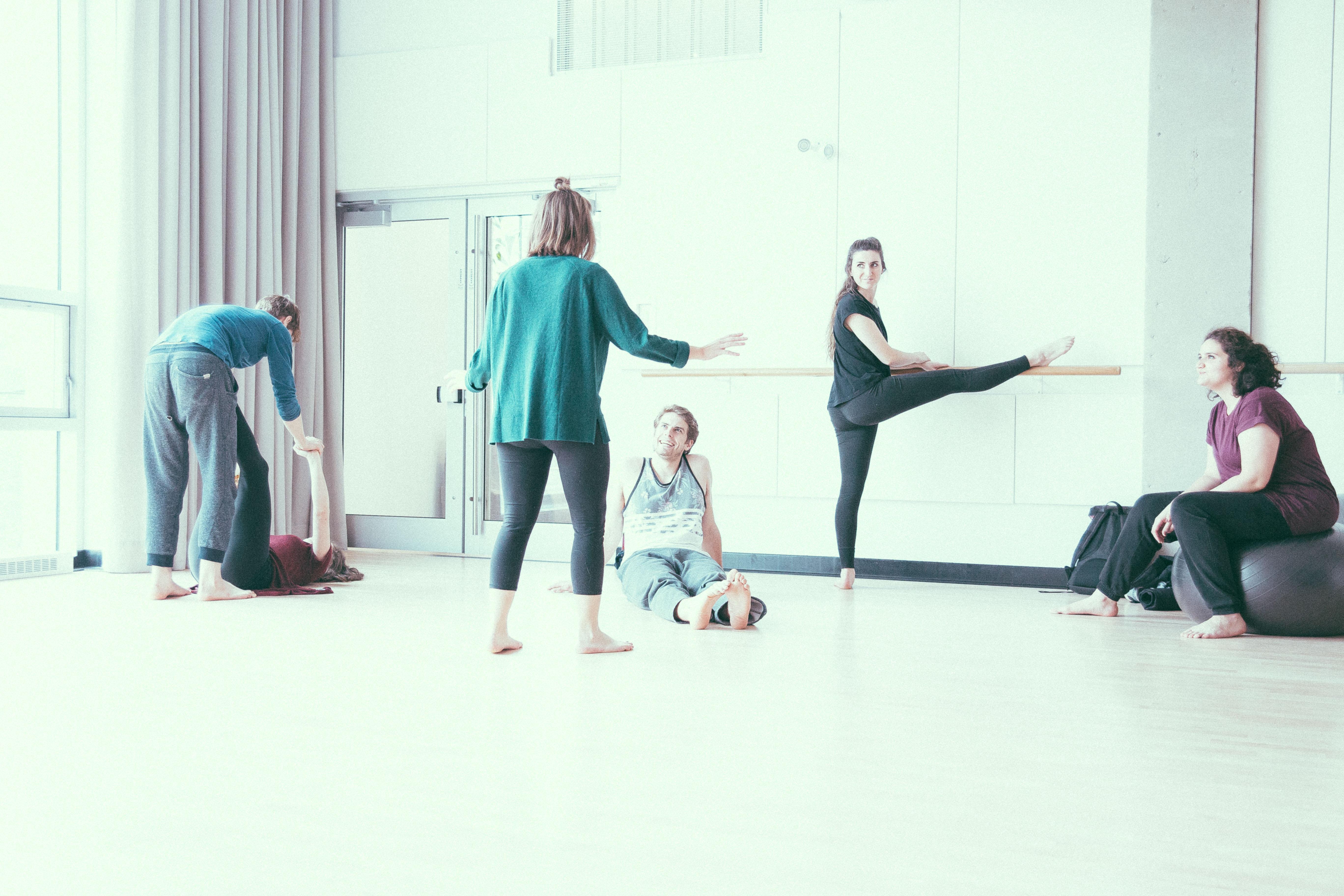 Cours de mouvement - Conservatoire d'art dramatique