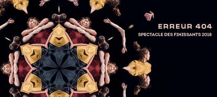 L'école de danse de QUébec - Erreur 404 - Finissants 2018