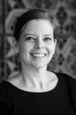 Photo portrait de Karine Parisé © Jean-François Letartre. Labo technique